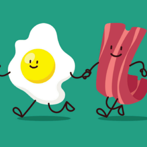 Low FODMAP Bacon and Eggs