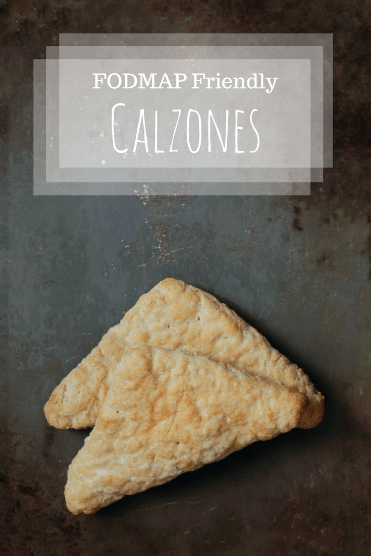 Low FODMAP Calzones on Tray