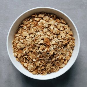 Low FODMAP Crunchy Granola in bowl