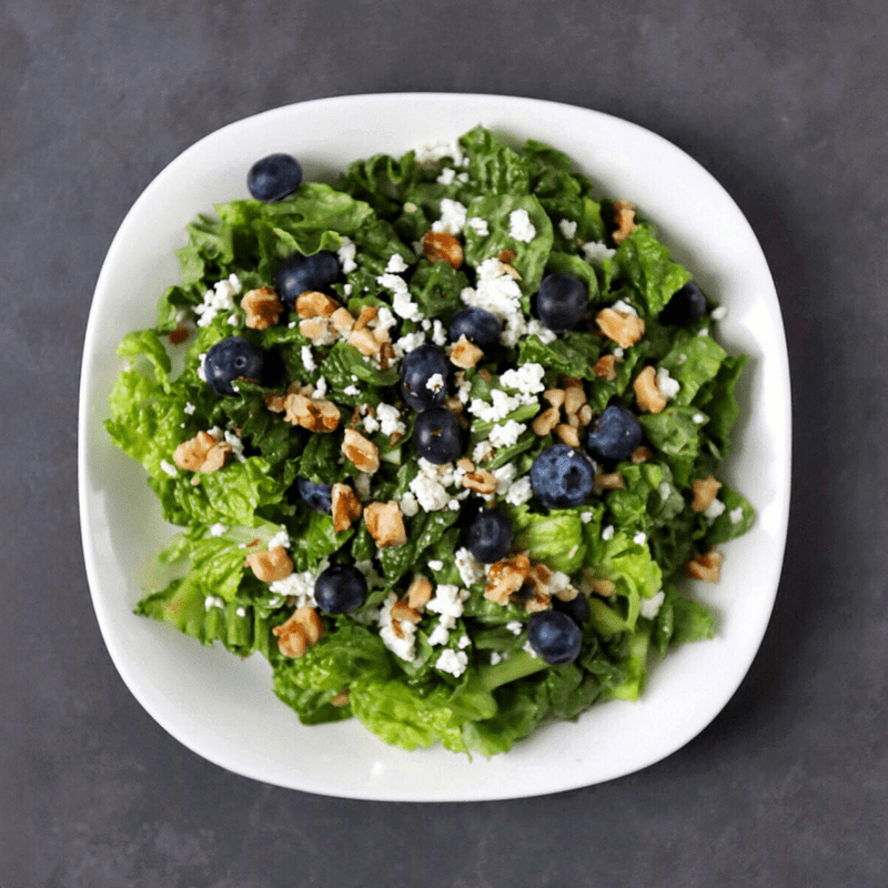 Low FODMAP Fruit and Walnut Salad in bowl