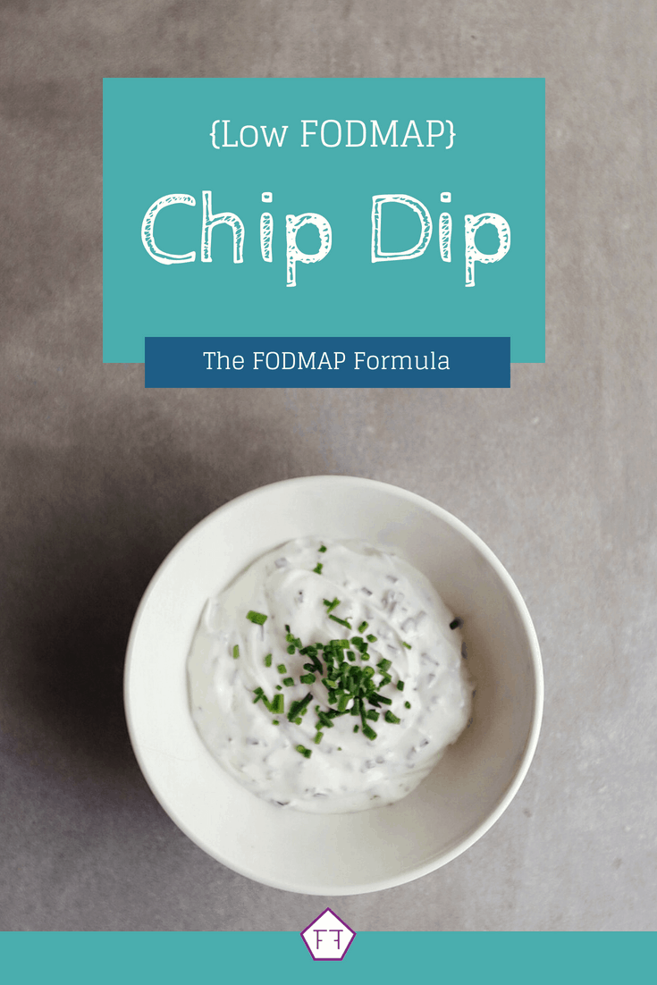 Low FODMAP Chip Dip in small bowl