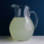 Low FODMAP Lemonade in pitcher