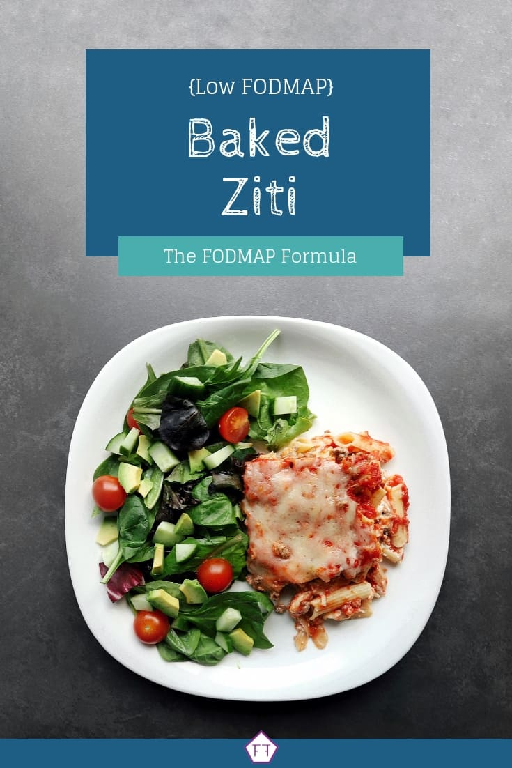 Low FODMAP baked ziti - Pinterest 4