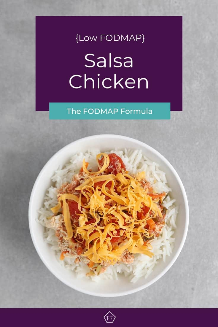 Low FODMAP Salsa Chicken - Pinterest 4