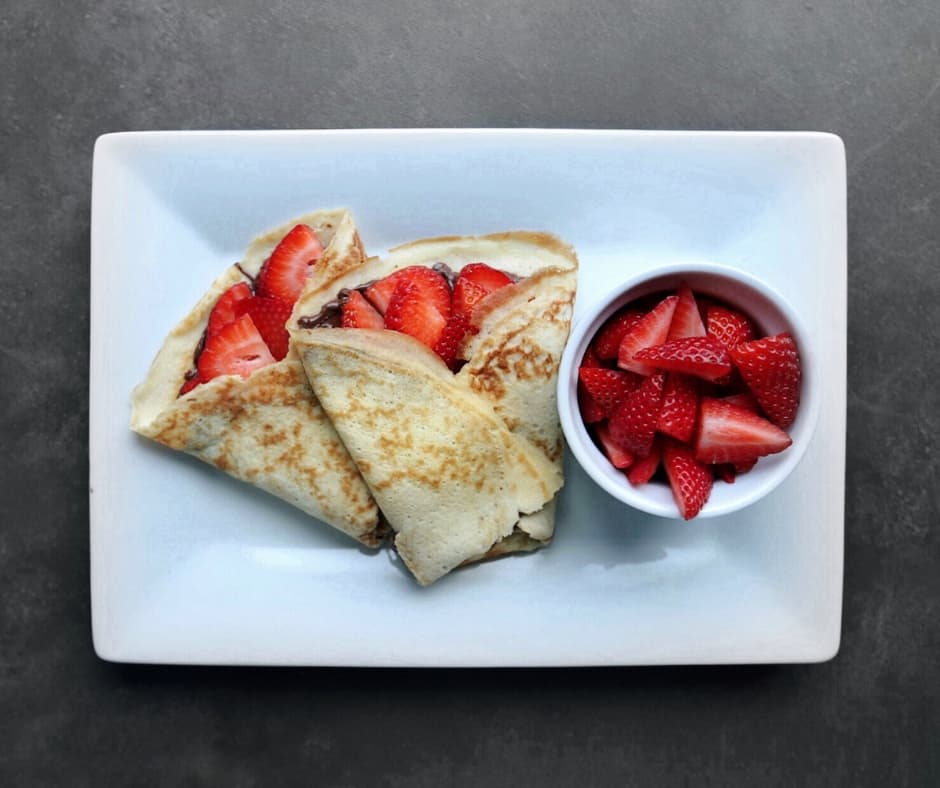 Low FODMAP Sweet Crepes - 940 x 788
