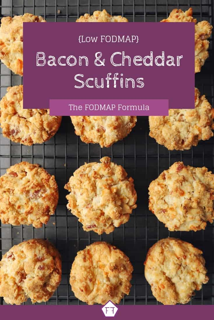 Low FODMAP Bacon and Cheddar Scuffins - Pinterest (1)