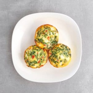 Low FODMAP Baked Egg Cups - 800 x 800