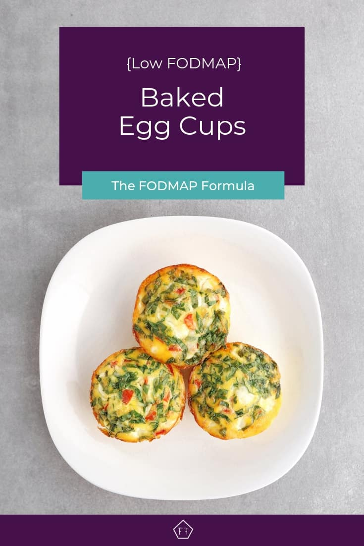 Low FODMAP Baked Egg Cups - Pinterest 3