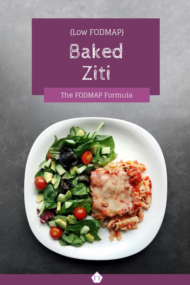 Low FODMAP baked ziti - Pinterest (3)