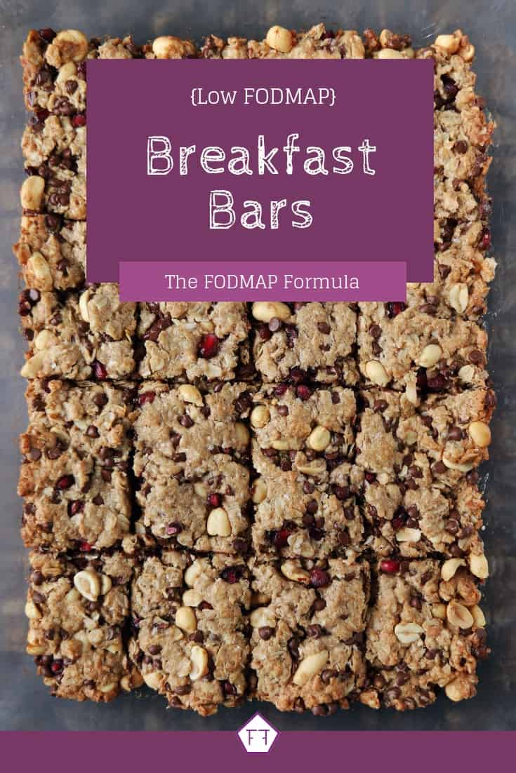 Low FODMAP Breakfast Bars - Pinterest 1