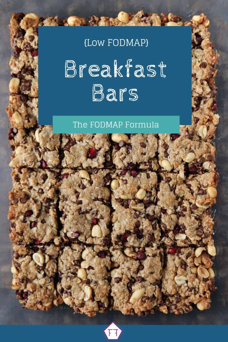 Low FODMAP Breakfast Bars - Pinterest 2