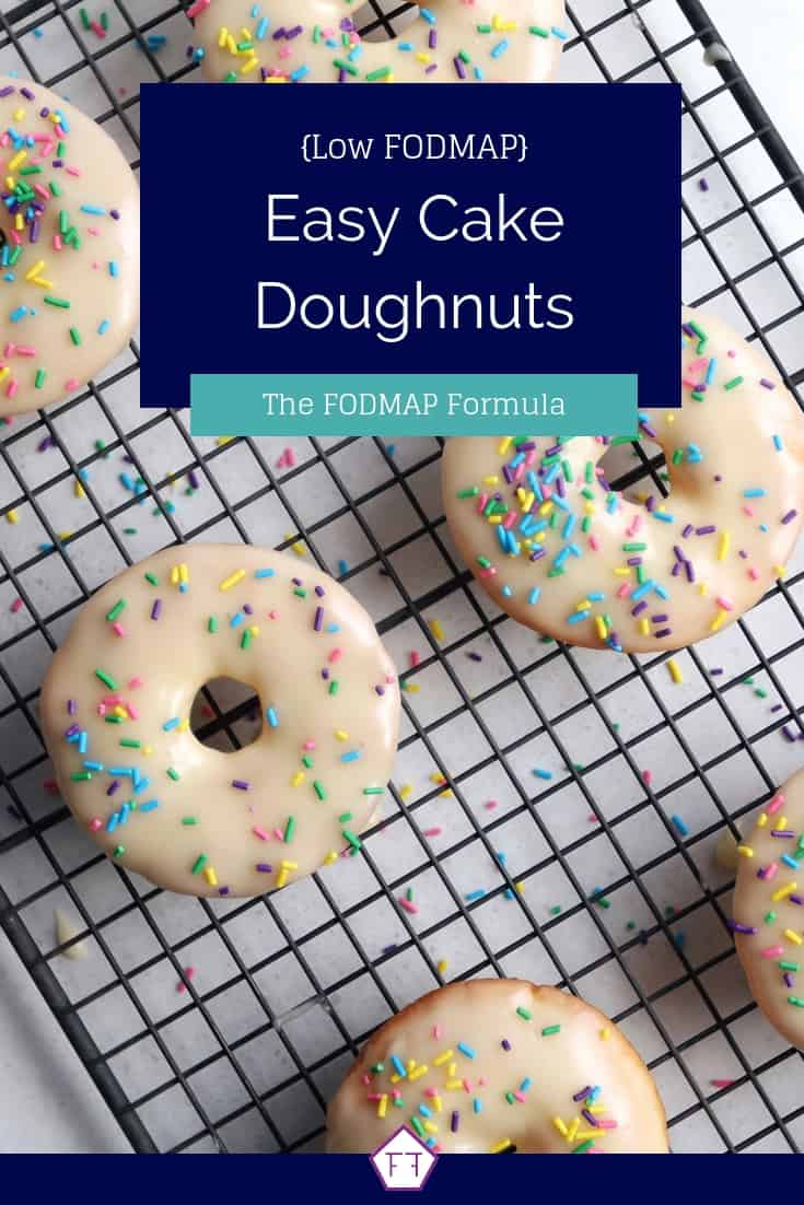 Low FODMAP Cake Doughnuts - Pinterest 3