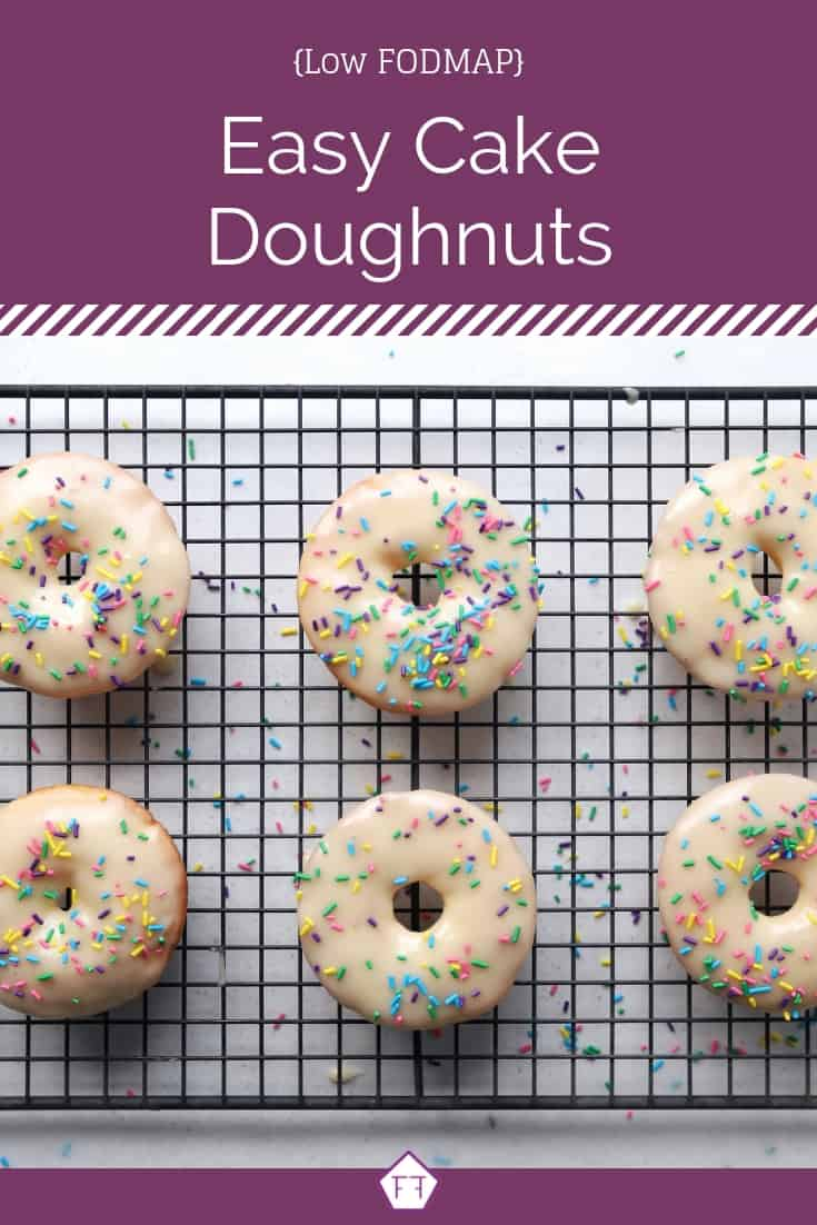 Low FODMAP Cake Doughnuts - Pinterest 4