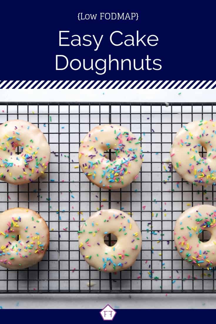 Low FODMAP Cake Doughnuts - Pinterest 5