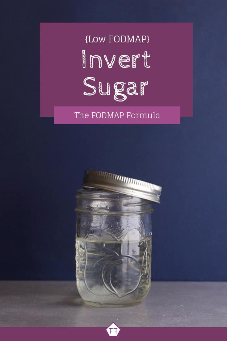 Low FODMAP Cane Sugar Syrup in Jar