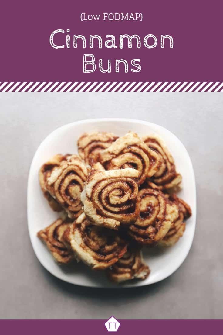 Low FODMAP Cinnamon Buns - Pinterest