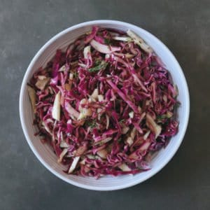 Low FODMAP Coleslaw