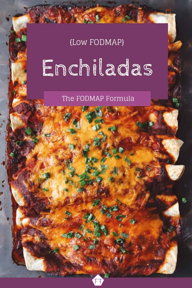 Low FODMAP Enchiladas