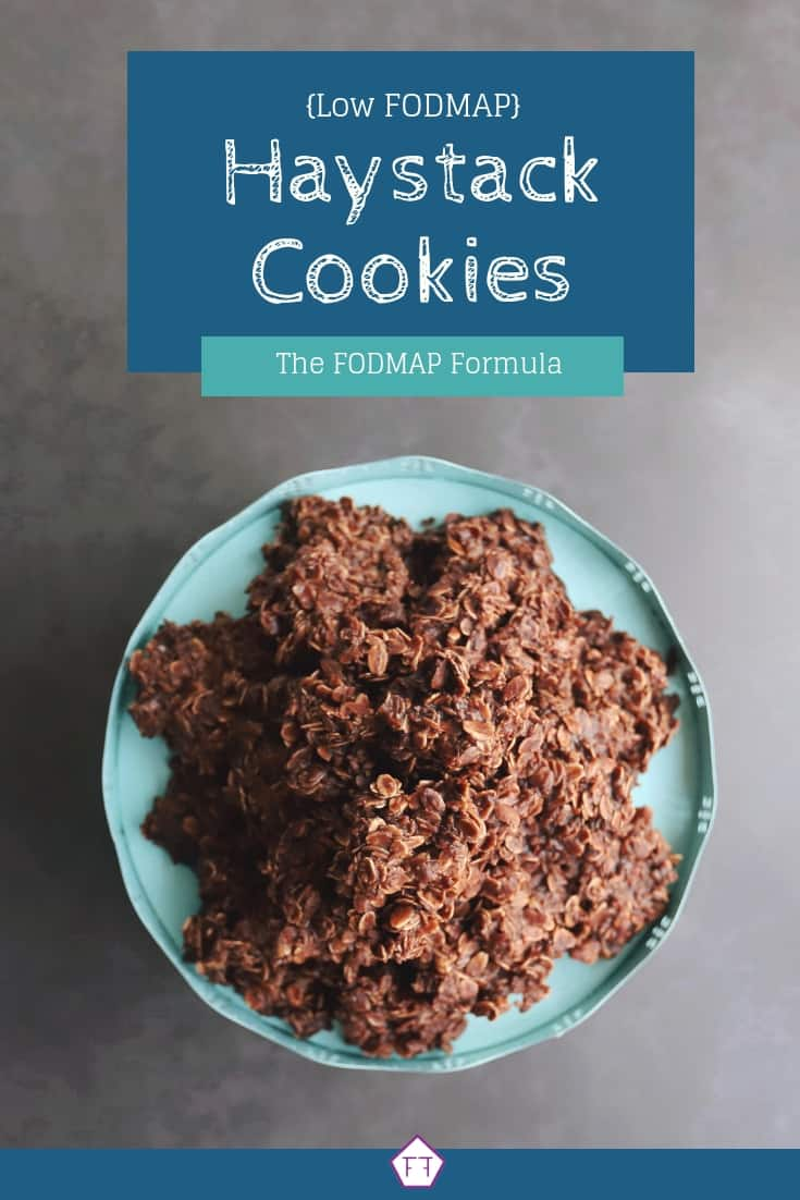 Low FODMAP Haystack Cookies