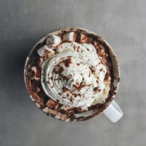 Low FODMAP Hot Chocolate - 800 x 800
