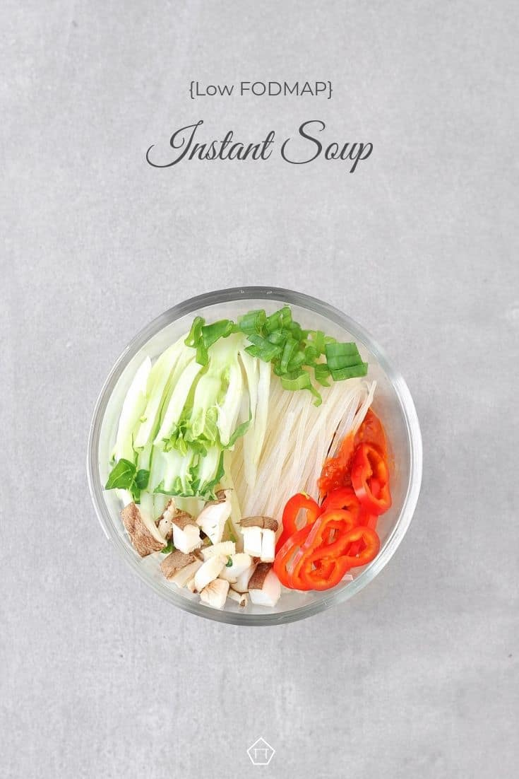 Low FODMAP Instant Soup - Pinterest 3