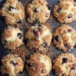low FOMDAP lemon blueberry muffins - 800 x 800