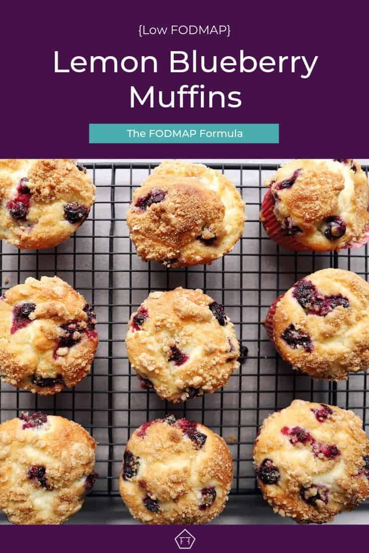 low FOMDAP lemon blueberry muffins - Pinterest 4