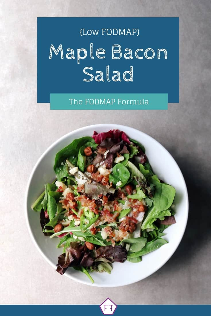 Low FODMAP Maple Bacon Salad Low FODMAP Maple Bacon Salad