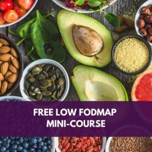 Free Low FODMAP Diet Mini-Course