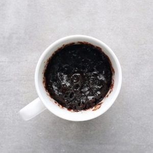 Low FODMAP mug cake in cup - 800 x 800