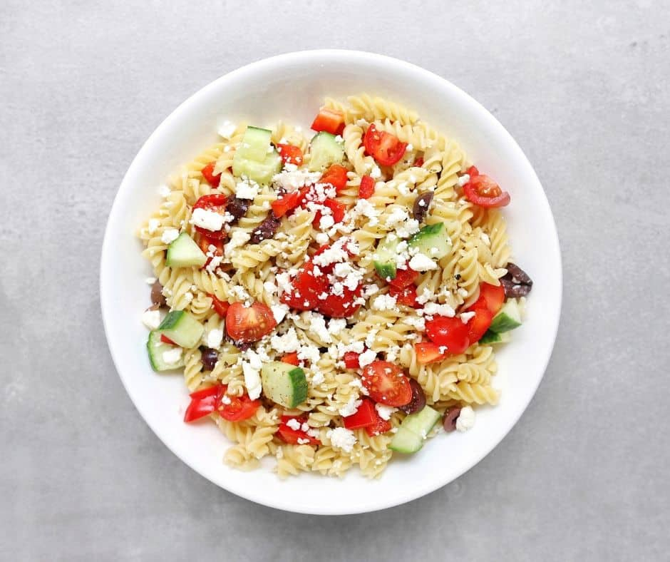 Low FODMAP Pasta Salad - -940 x 788