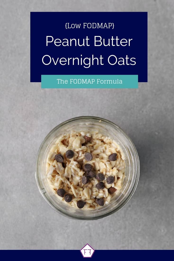 Low FODMAP Overnight Oats in Jar - Pinterest 4