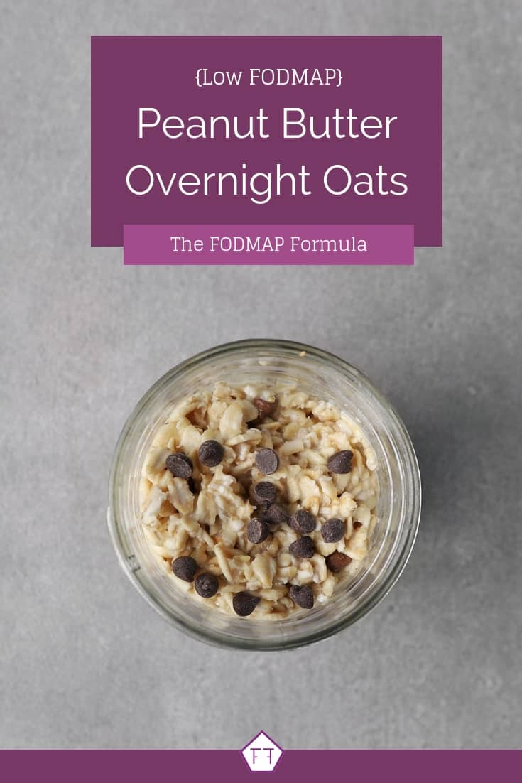 Low FODMAP Overnight Oats in Jar - Pinterest 3