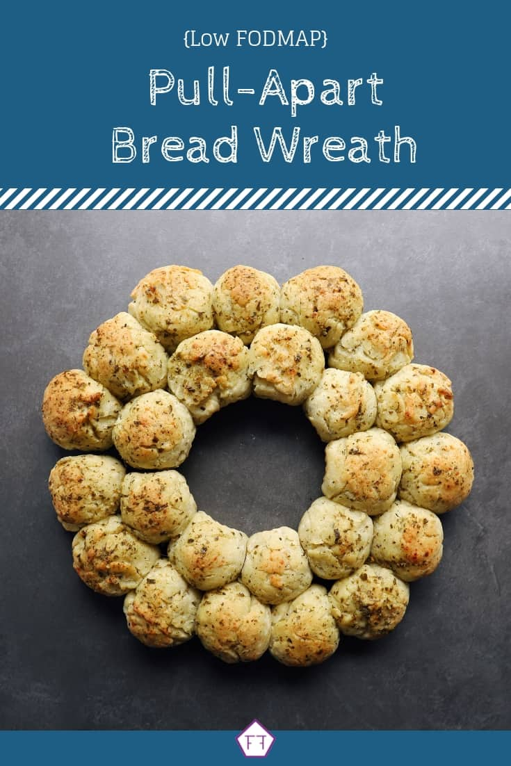 Low FODMAP Pull-Apart Bread Wreath - Pinterest (2)