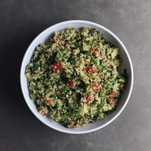 Low FODMAP Quinoa Tabouleh