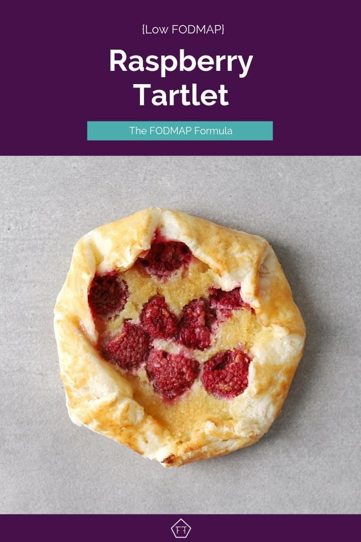 Low FODMAP Raspberry Tartlet - Pinterest 1