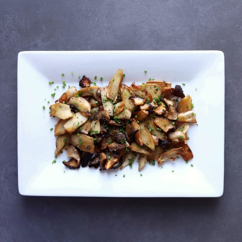 Low FODMAP Roasted Oyster Mushrooms - 800 x 80
