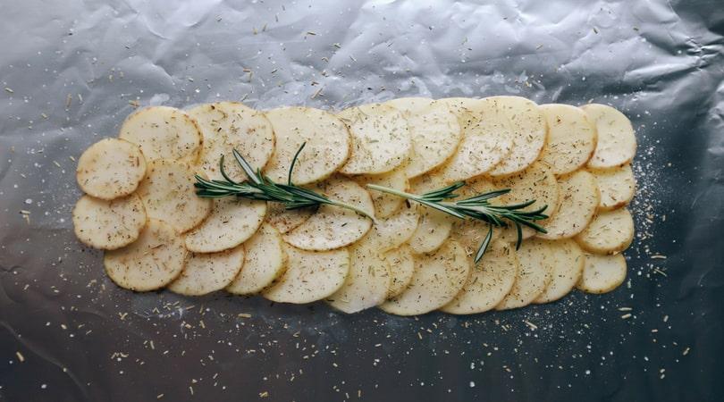Low FODMAP Rosemary Potatoes