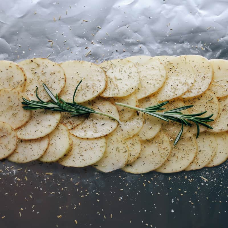 Low FODMAP Rosemary Potatoes