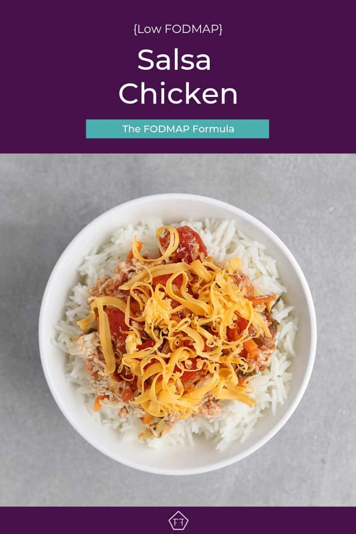 Low FODMAP Salsa Chicken - Pinterest 2