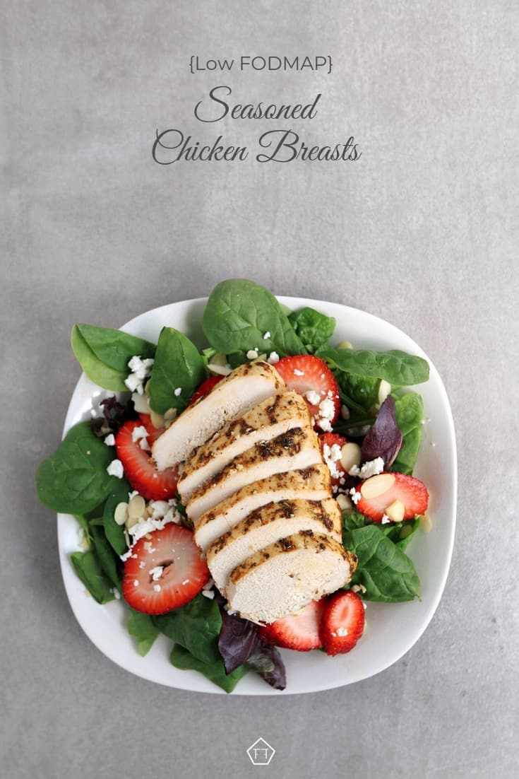 Low FODMAP Seasoned Chicken Breast - Pinterest 5