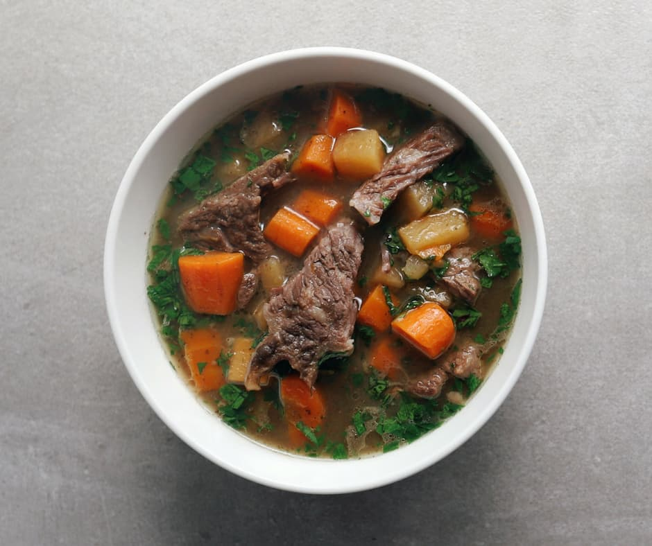 Low FODMAP Short Rib Beef Stew