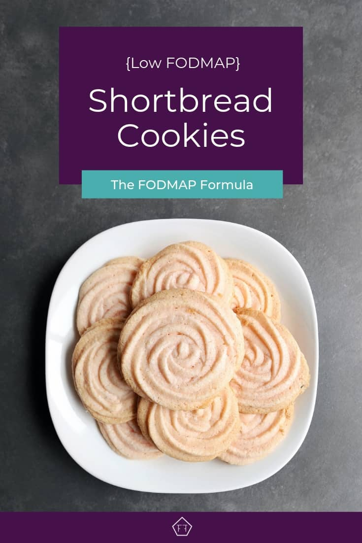 Low FODMAP Shortbread Cookies - Pinterest 2