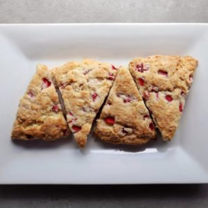 Low FODMAP Strawberry Tea Biscuits - 800 x 800