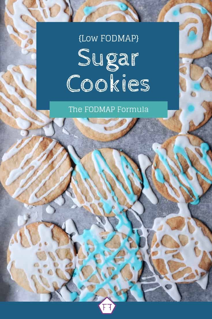 Low FODMAP Sugar Cookies - Pinterest 2