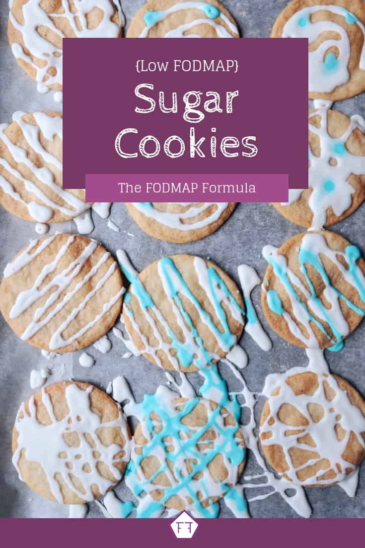 Low FODMAP Sugar Cookies - Pinterest 1