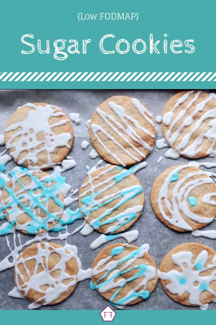 Low FODMAP Sugar Cookies - Pinterest 3