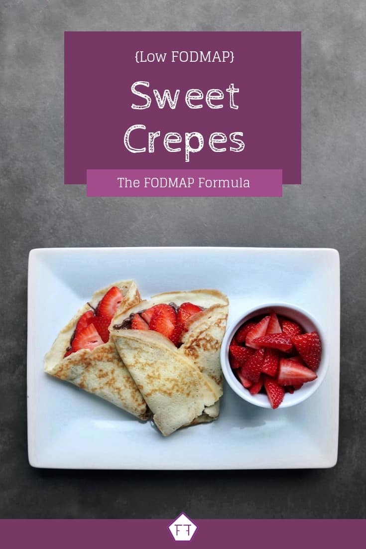 Low FODMAP Sweet Crepes - Pinterest 2