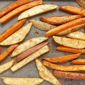Low FODMAP Sweet Potato Fries - 800 x 800