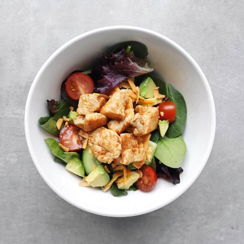 Low FODMAP Taco Salad - Feature Image